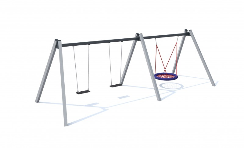 Playground Equipment for sale Huśtawka wahadłowa Orion 1 Professional manufacturer