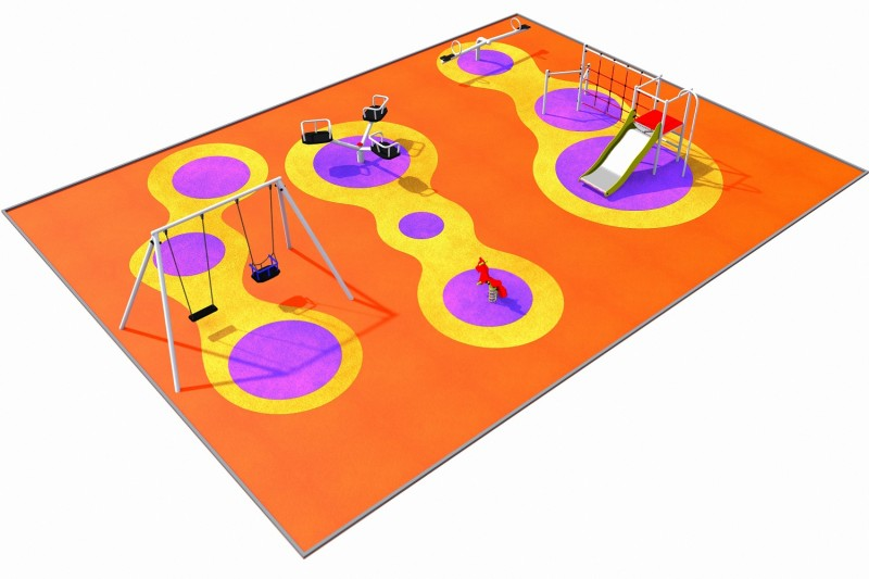 Playground Equipment for sale PARK 2 Professional manufacturer