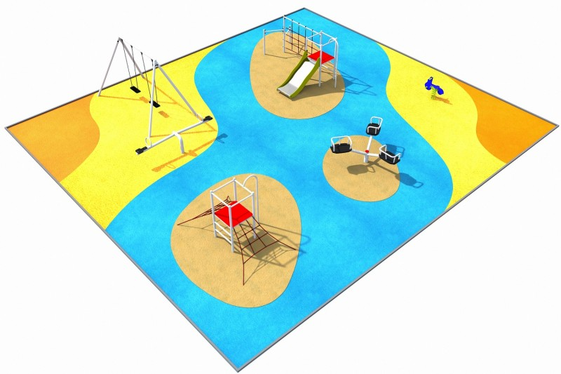 Playground Equipment for sale PARK 4 Professional manufacturer
