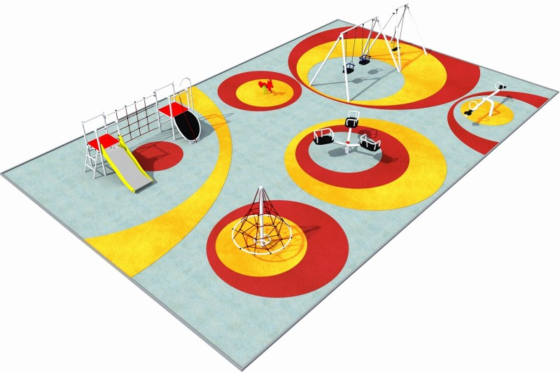 Playground Equipment for sale PARK 6 Professional manufacturer