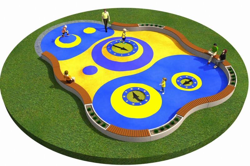 Playground Equipment for sale Trampoline Orta-I 150 x 300 Professional manufacturer
