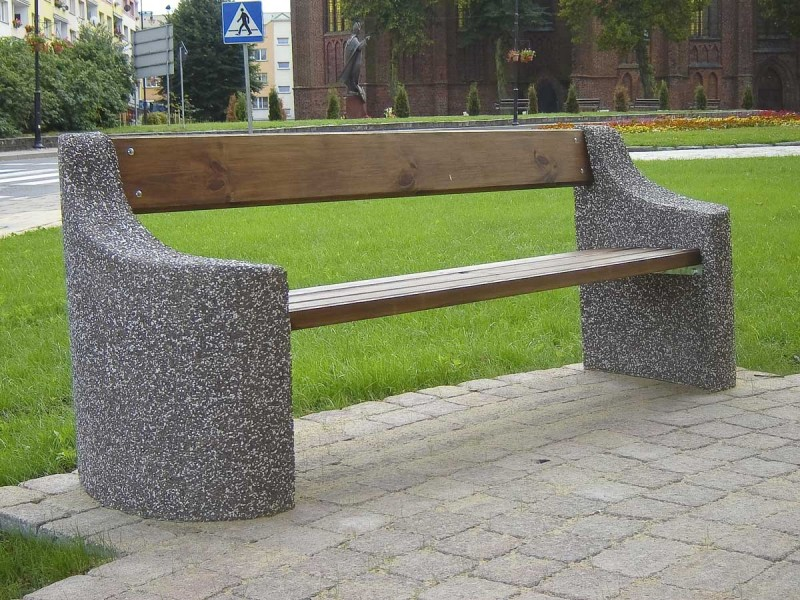 Concrete bench 05 Inter Play Playground