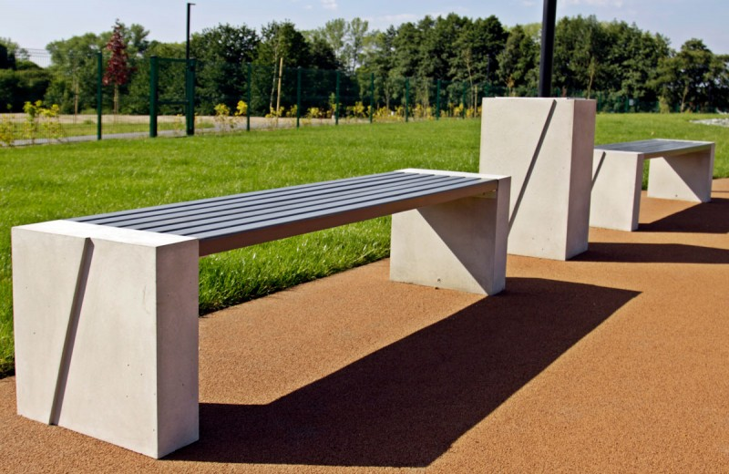 DECO concrete bench 10 Inter Play Playground