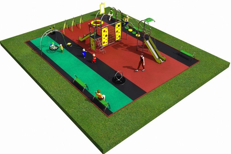 LIMAKO for teenagers layout 2 Inter Play Playground