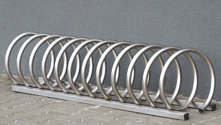 stainless steel bicycle rack 14 Inter Play Playground