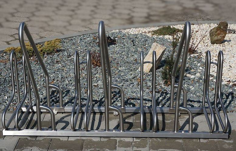 stainless steel bicycle rack 15 Inter Play Playground