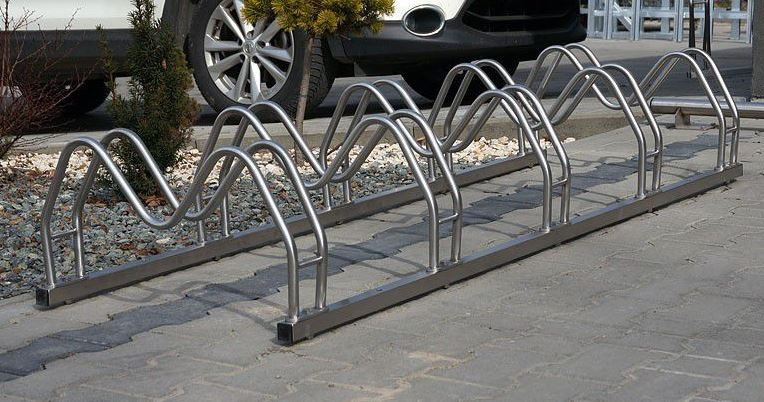 stainless steel bicycle rack 16 Inter Play Playground