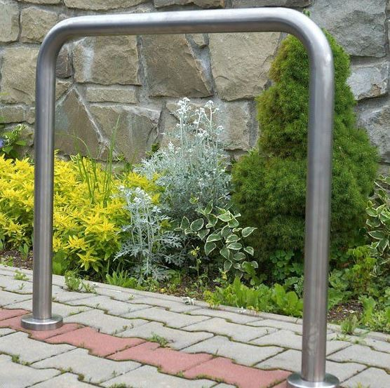 stainless steel bicycle rack 22 Inter Play Playground