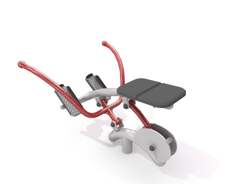 Rowing Machine Inter Play Playground