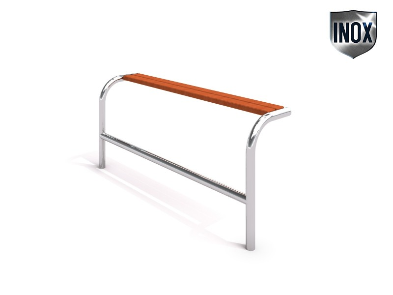 Stainless steel bench 21 Inter Play Playground