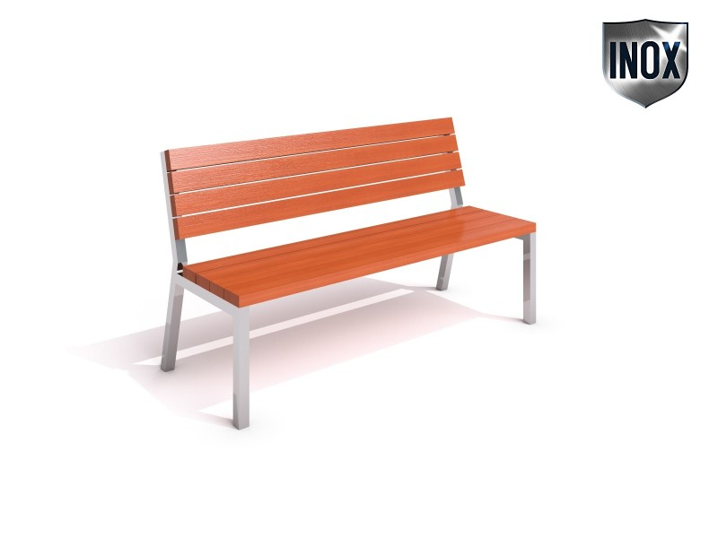Inter-Play - Stainless steel bench 01
