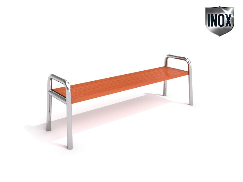 Inter-Play - Stainless steel bench 03