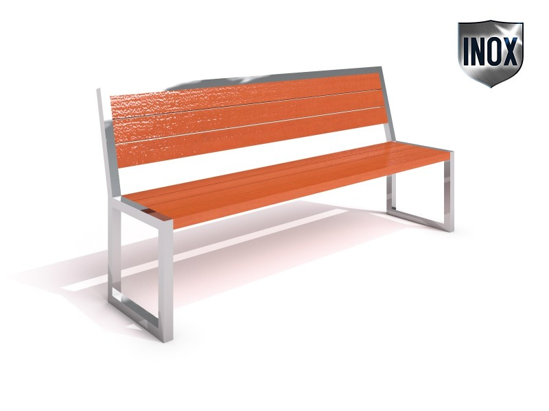 Inter-Play - Stainless steel bench 04