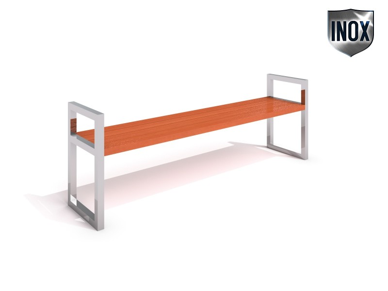 Inter-Play - Stainless steel bench 05