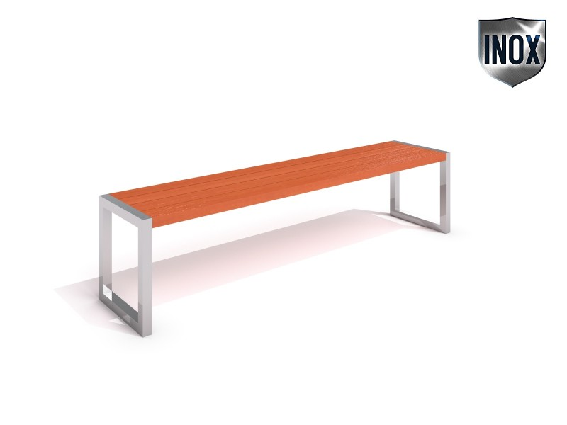 Inter-Play - Stainless steel bench 06