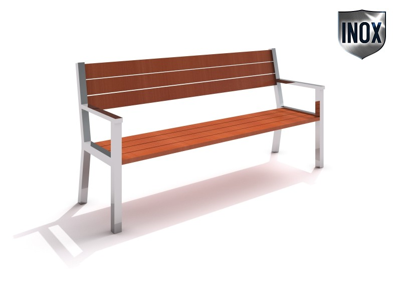 Inter-Play - Stainless steel bench 07