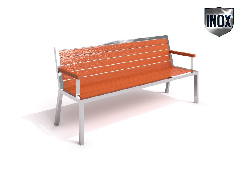 Inter-Play - Stainless steel bench 08