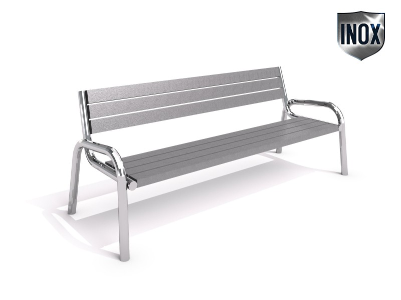 Playground Equipment for sale Stainless steel bench 10 Professional manufacturer