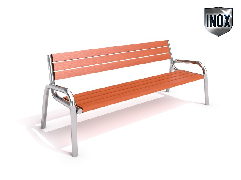 Inter-Play - Stainless steel bench 15