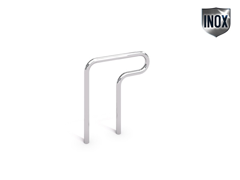 Inter-Play - stainless steel bicycle rack 02