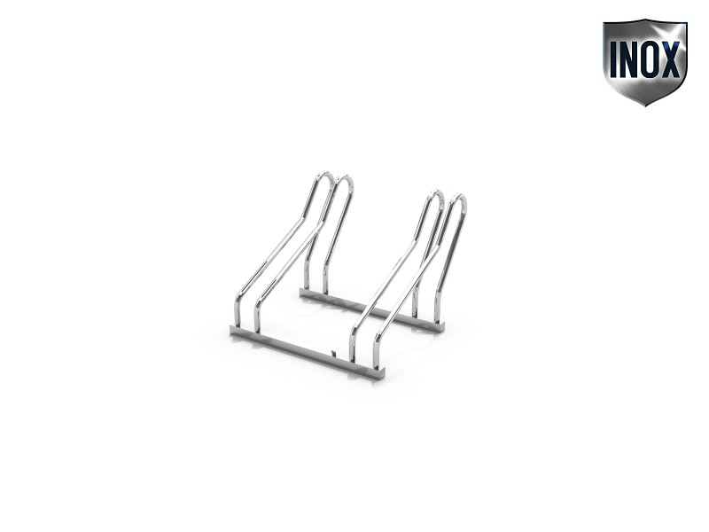 stainless steel bicycle rack 20 Inter Play Playground