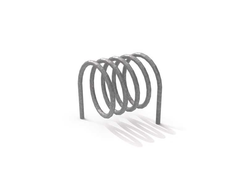 Steel bicycle rack 10 Inter Play Playground