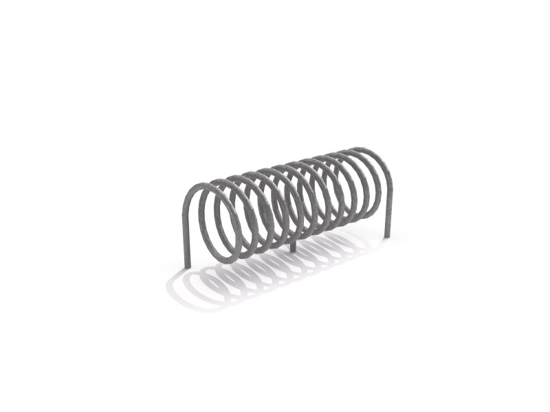 Steel bicycle rack 11 Inter Play Playground