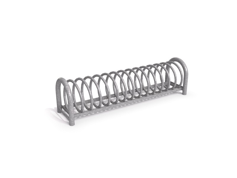 Playground Equipment for sale Steel bicycle rack 11 Professional manufacturer