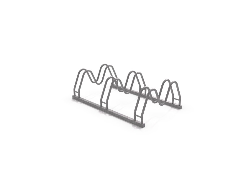 Steel bicycle rack 16 Inter Play Playground
