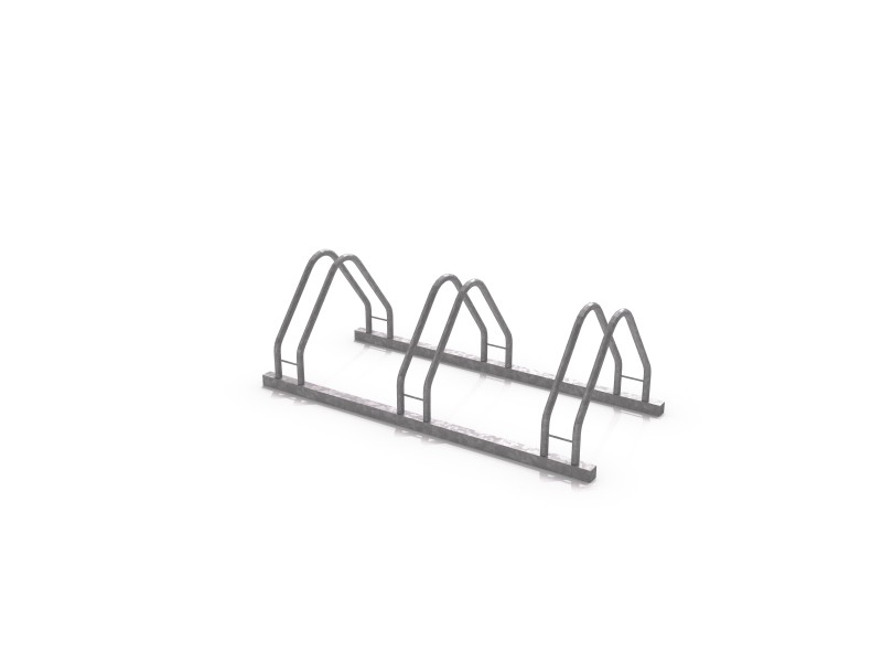 Steel bicycle rack 17 Inter Play Playground
