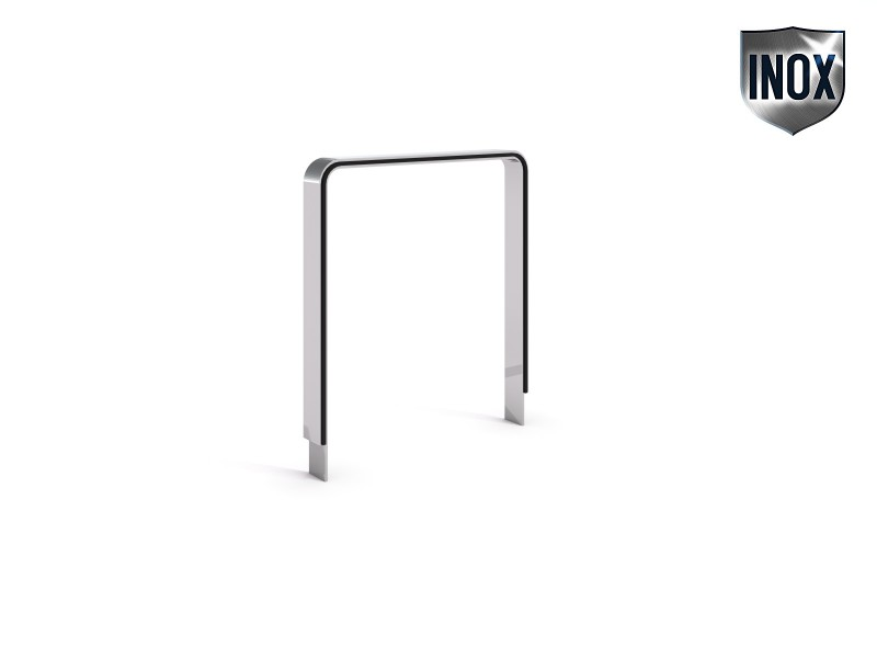 Stainless steel bicycle rack 24 Inter Play Playground