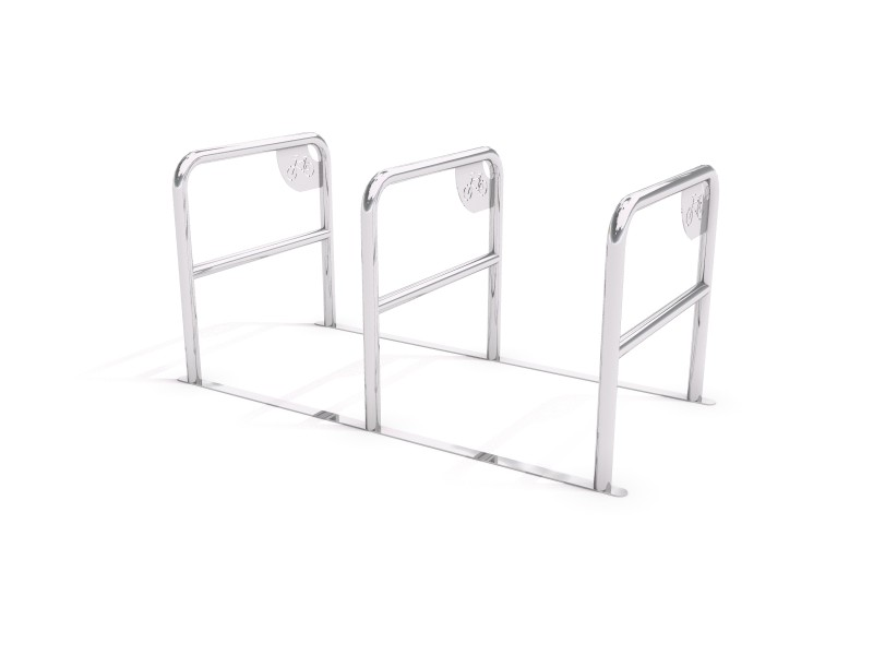 Playground Equipment for sale stainless steel bicycle rack 04 Professional manufacturer