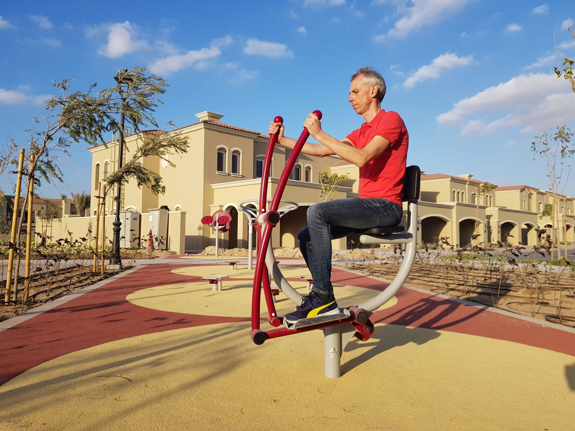 outdoor fitness bike Inter-Play