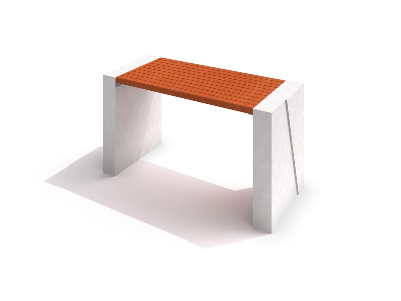 Inter-Play - DECO white concrete table 01