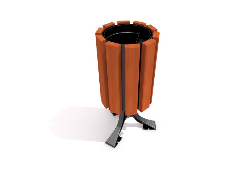 Playground Equipment for sale steel trash bin 14 Professional manufacturer