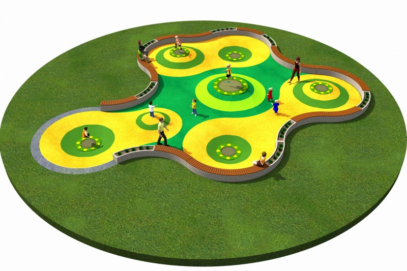 Trampolines  Layout 8 Inter Play Playground