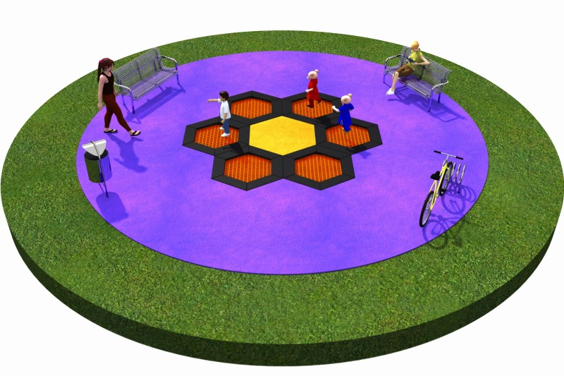 Trampolines  Layout 2 Inter Play Playground