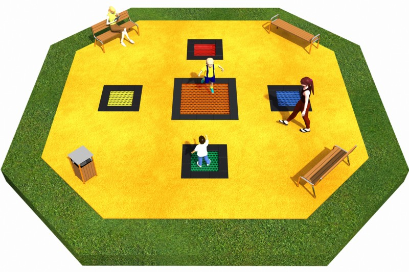 Trampolines  Layout 11 Inter Play Playground