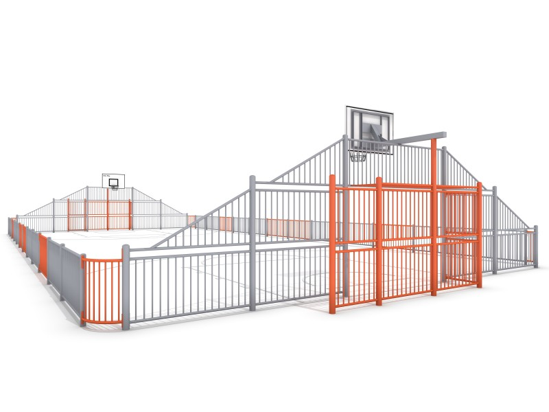 ARENA 2 (25x12m) Inter Play Playground