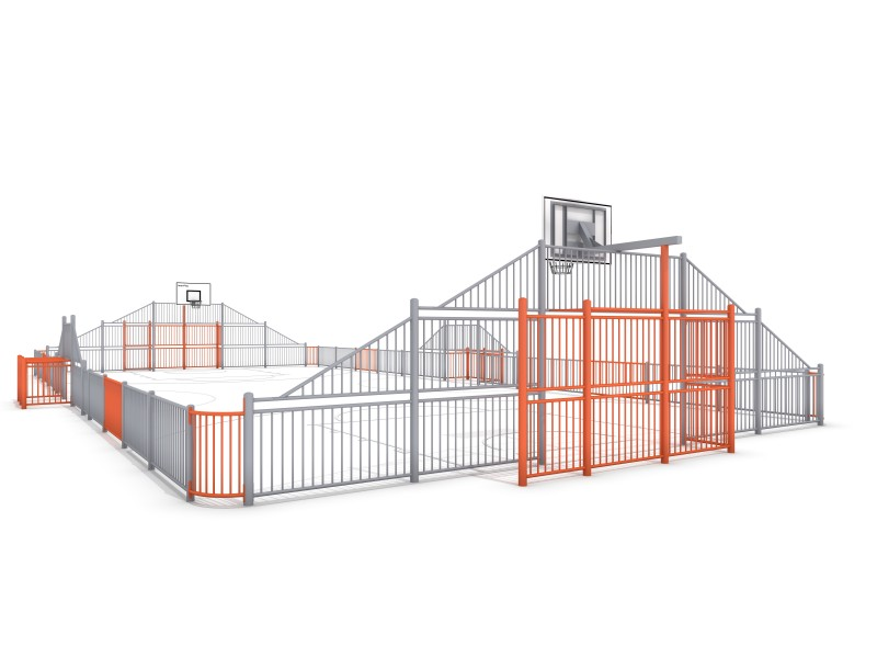 ARENA 4 (25x12m) Inter Play Playground
