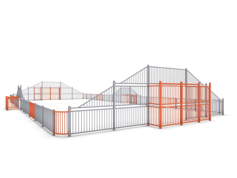 ARENA 4a (25x12m) Inter Play Playground