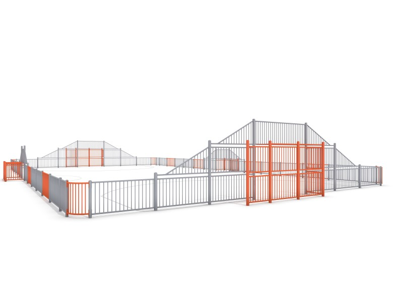 ARENA 5a (29x16m) Inter Play Playground
