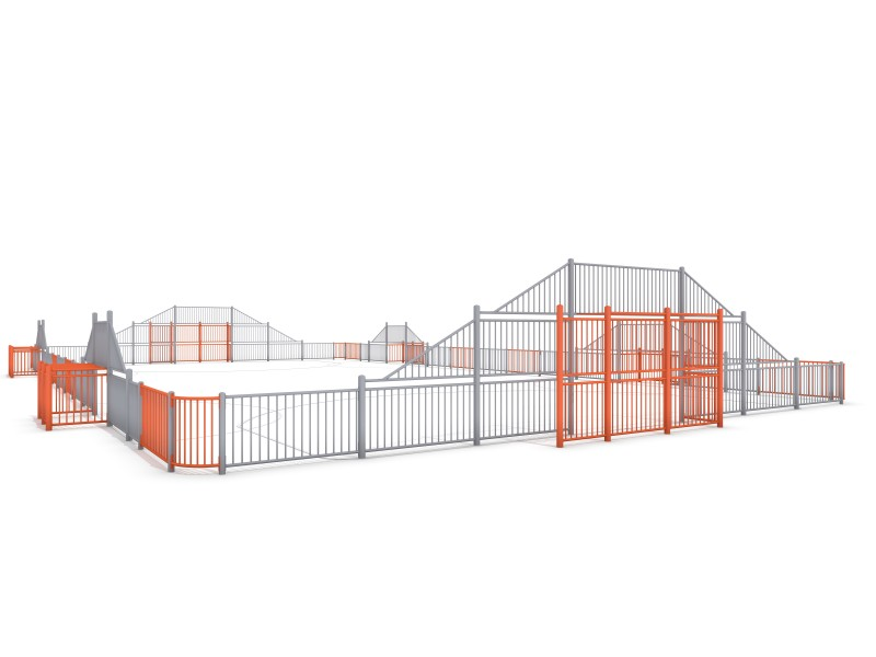 ARENA 5c (29x16m) Inter Play Playground