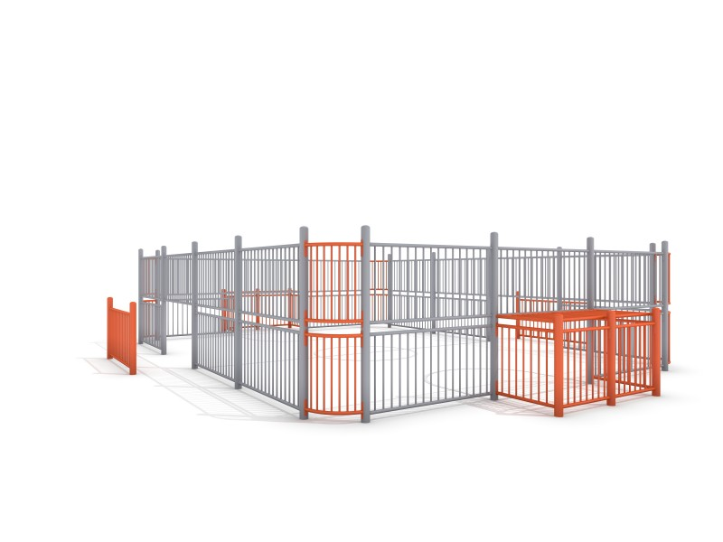 SOCCER RING 3 (9x7m) Inter Play Playground