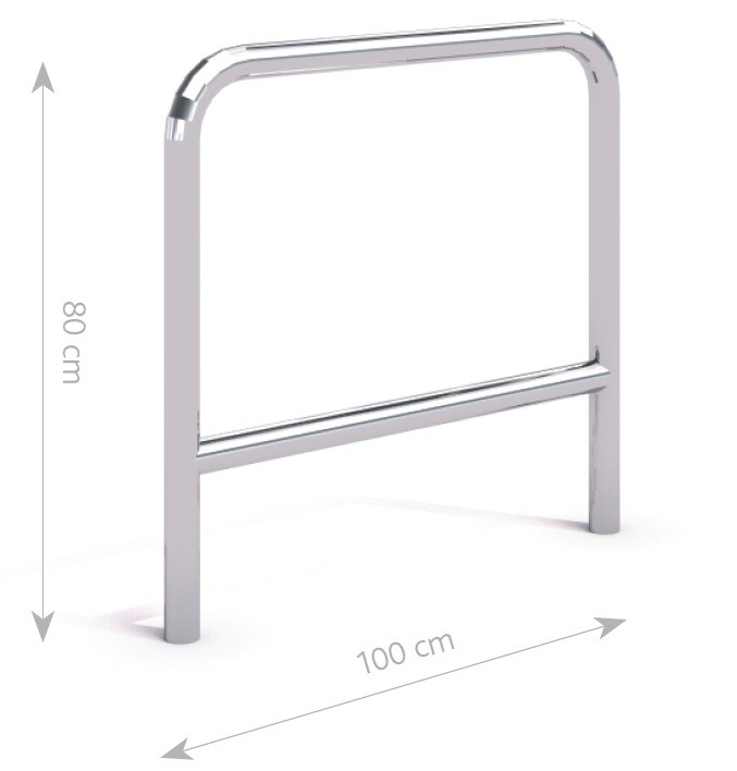 stainless steel bicycle rack 04 Inter Play Playground
