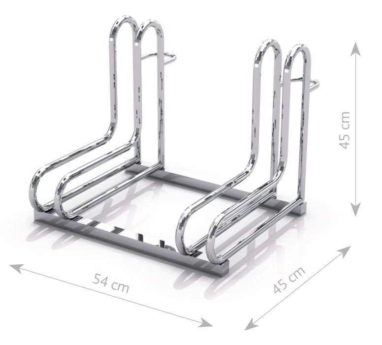 Steel bicycle rack 18 Inter Play Playground