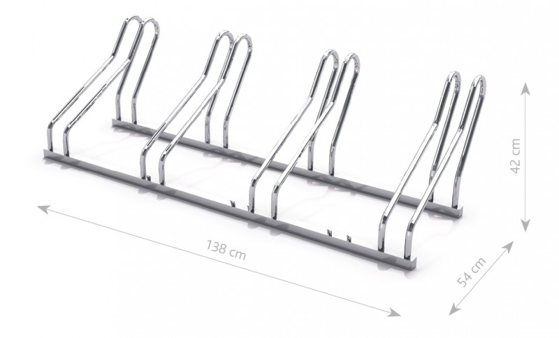 Steel bicycle rack 21 Inter Play Playground