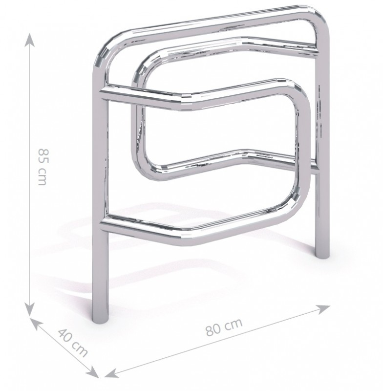 Steel bicycle rack 09 Inter Play Playground