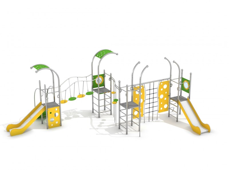 Playground Equipment for sale INFANO 6 Professional manufacturer